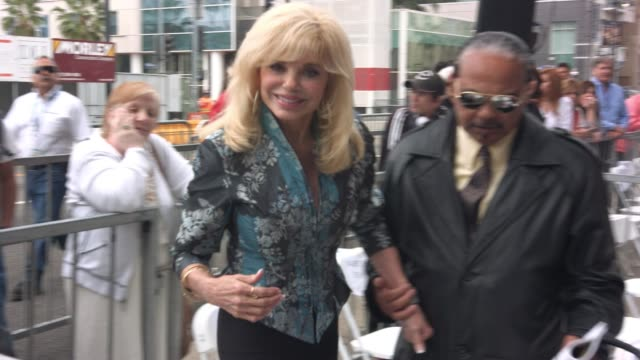 loni anderson at hollywood walk of fame on may 19 2016 in hollywood california - deidre hall stock videos and b-roll footage