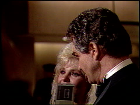 loni anderson at the 1991 golden globe awards at the beverly hilton in beverly hills california on january 19 1991 - loni anderson stock videos & royalty-free footage