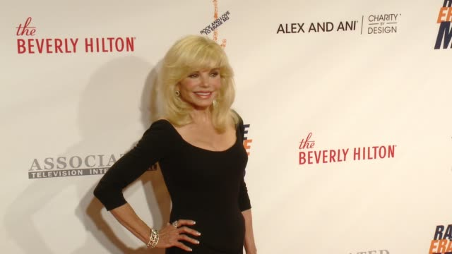loni anderson at the 23rd annual race to erase ms in los angeles ca - loni anderson stock videos & royalty-free footage