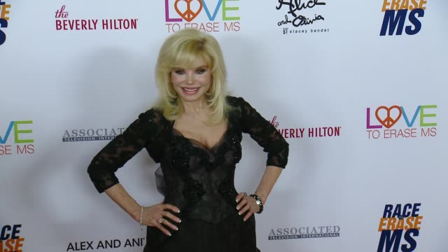 loni anderson at the 26th annual race to erase ms at the beverly hilton hotel on may 10 2019 in beverly hills california - loni anderson stock videos & royalty-free footage