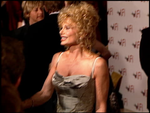 loni anderson at the afi celebration honoring harrison ford at the beverly hilton in beverly hills california on february 17 2000 - loni anderson stock videos & royalty-free footage