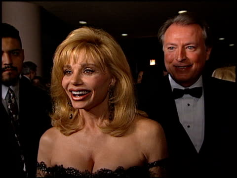 loni anderson at the american cinema awards at the bonaventure hotel in los angeles california on november 2 1996 - loni anderson stock videos & royalty-free footage