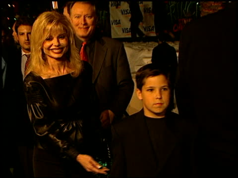 Loni Anderson at the 'How the Grinch Stole Christmas' Premiere at Universal Amphitheatre in Universal City California on November 8 2000