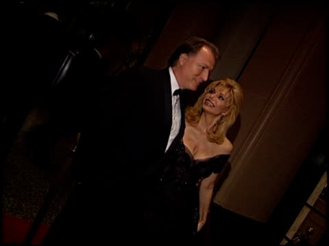 loni anderson at the salute to hollywood gala at the beverly wilshire hotel in beverly hills california on november 23 1996 - loni anderson stock videos & royalty-free footage