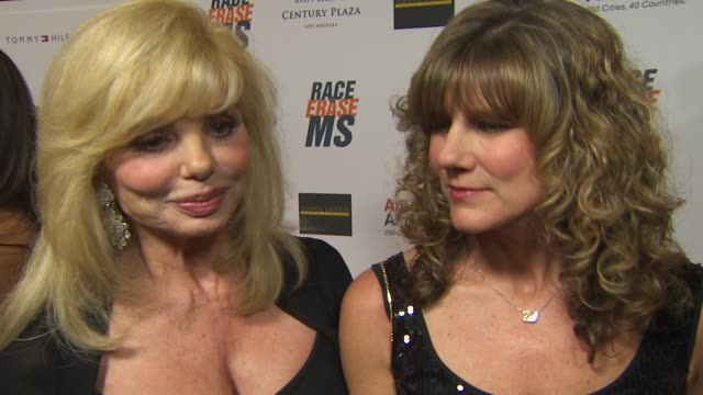 loni anderson daughter deidra hoffman on being a part of the night her daughter being diagnosed with multiple sclerosis and how they're handling it... - loni anderson stock videos & royalty-free footage