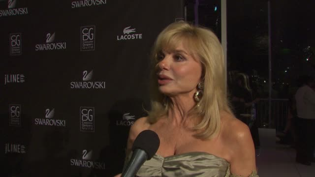 Loni Anderson on presenting at tonight's event on the importance of costume design when getting into character for a role and on how difficult a job...
