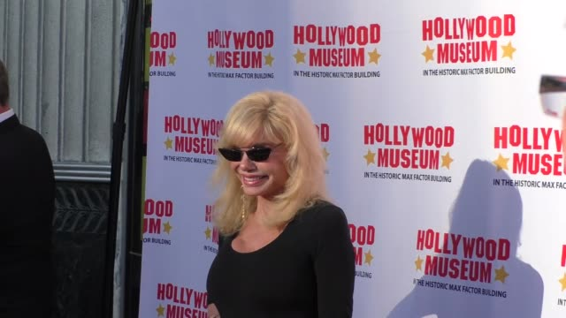 loni anderson outside the hollywood museum in hollywood in celebrity sightings in los angeles - loni anderson stock videos & royalty-free footage