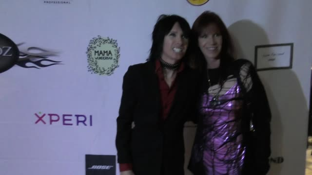 lonny johnson and jodi hamilton at the 5th annual rock godz hall of fame awards at hard rock cafe on october 26 2017 in hollywood california - hard rock cafe stock videos & royalty-free footage