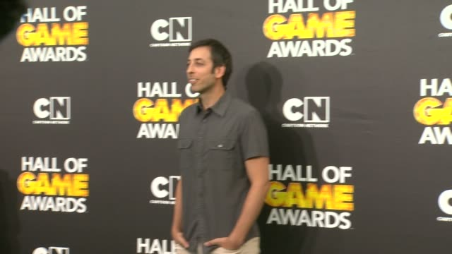 Lonny Ross at Cartoon Network Hosts Fourth Annual Hall Of Game Awards at Barker Hangar on February 15 2014 in Santa Monica California