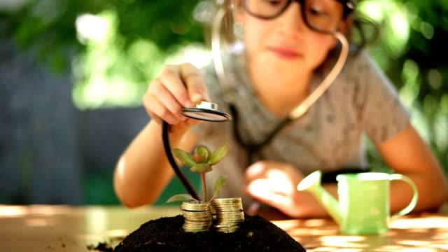Look nach dem Geld und das Wachstum