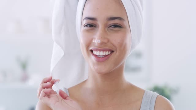 look after your skin - moisturiser stock videos & royalty-free footage