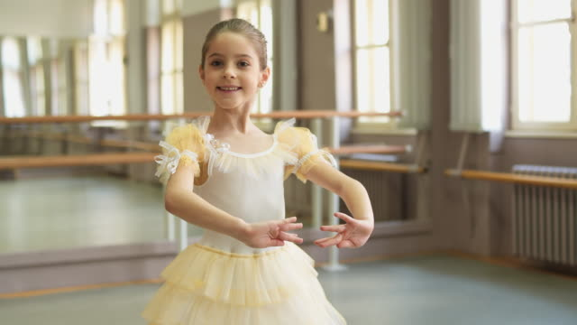 look at my ballet skills - ballet dancing stock videos & royalty-free footage