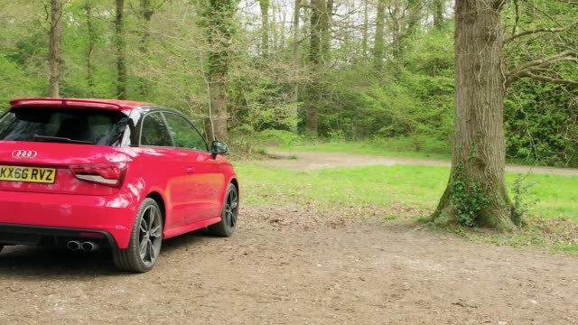 A look at the interior and exterior of the Audi S1 subcompact car