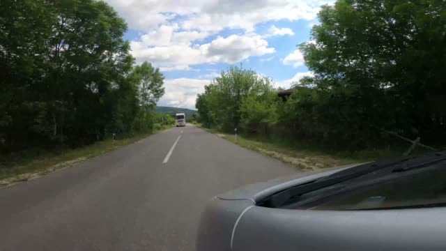 a look at the road from a car perspective - digital camcorder stock videos & royalty-free footage