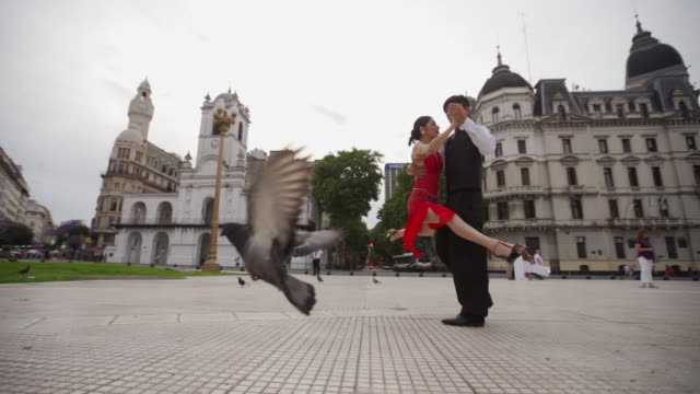 look at their amazing dancing skills - tango dance stock videos & royalty-free footage