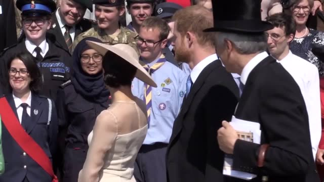 a look at what the duke and duchess of sussex have been up to in 2018 from the royal wedding to the pregnancy announcement - prince harry stock videos & royalty-free footage
