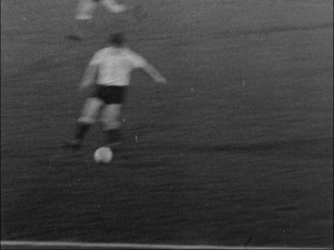 a look back at the season of the double winning spurs team england ext actions from various matches involving tottenham hotspur featuring spurs... - 1961 stock videos & royalty-free footage