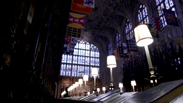 A look inside St George's Chapel in Windsor where Prince Harry will marry Meghan Markle The Chapel completed in 1528 will host the Royal wedding on...