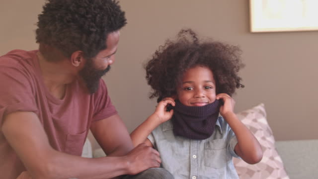 i look just like you dad! - role model stock videos & royalty-free footage