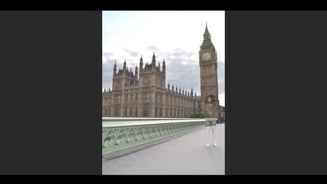 looking at big ben here, you'd be forgiven for thinking it's just another photo of the famous clock tower. but this is different: blended into the... - obelisk stock videos & royalty-free footage