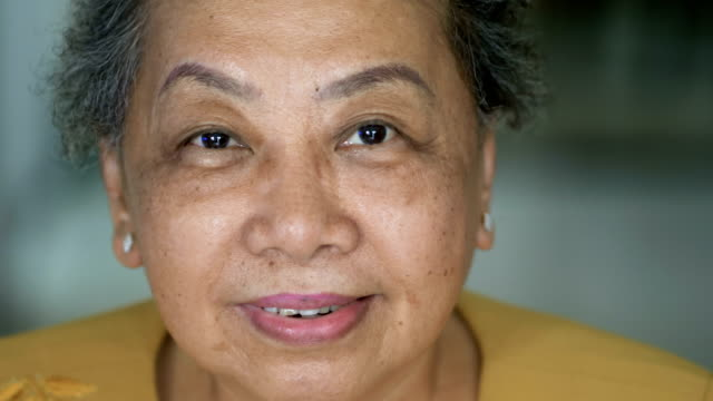 looking at camera :happy senior women - thai ethnicity stock videos & royalty-free footage