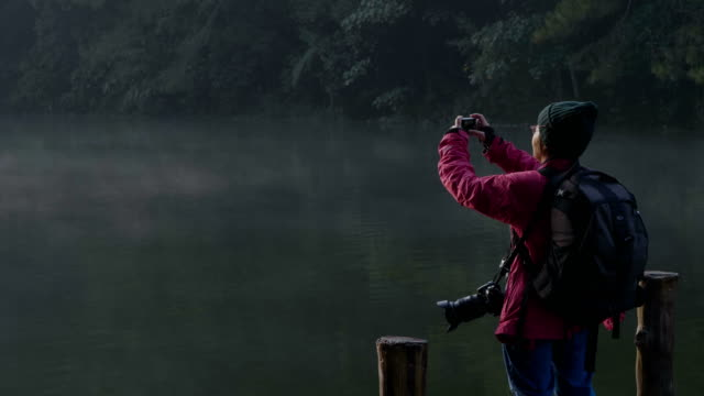 stockvideo's en b-roll-footage met weergave hobby's senioren vrouwen kijken foto messaging - 65 69 jaar