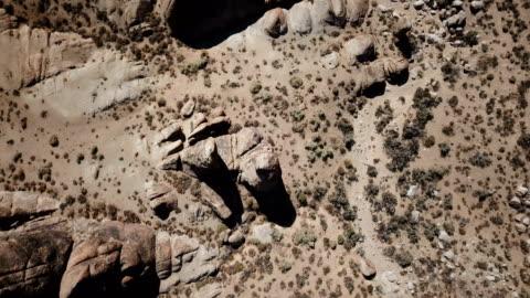 looking down at rocks in california desert - californian sierra nevada stock videos & royalty-free footage
