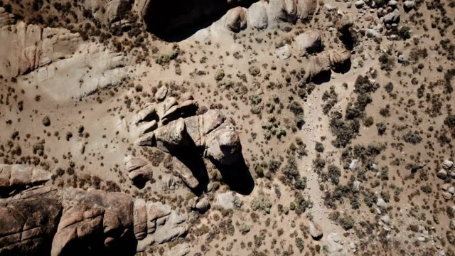 looking down at rocks in california desert - californian sierra nevada stock videos & royalty-free footage