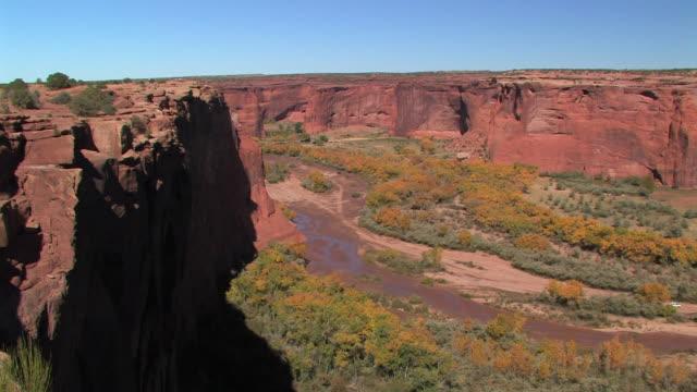 HA WS looking down into canyon/ Canyon de Chelly National Monument, Arizona