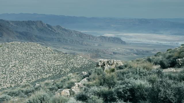 Looking Down Into Death Valley