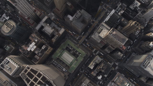 Looking down onto Midtown Manhattan. Shot in 2011.