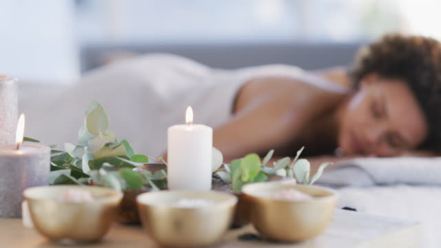 looking for a reason to go on a spa vacation? - massage table stock videos and b-roll footage