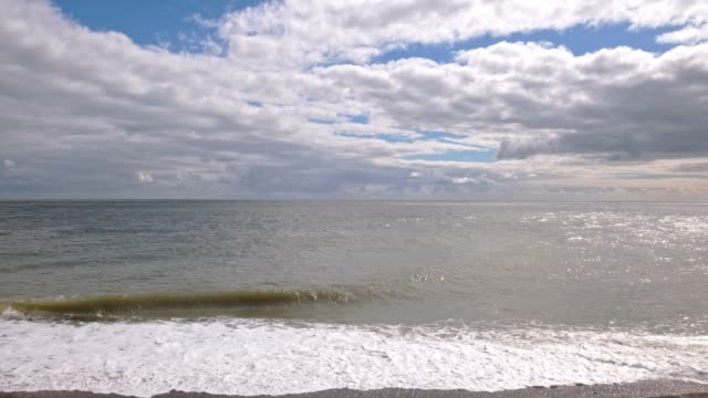 looking out over the irishe sea - catherine macbride stock videos & royalty-free footage