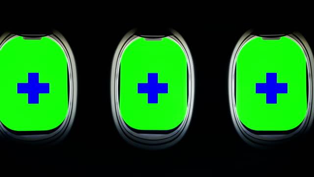 stockvideo's en b-roll-footage met op zoek naar outdoor van vliegtuig patrijspoort - 4k-resolutie - aircraft point of view