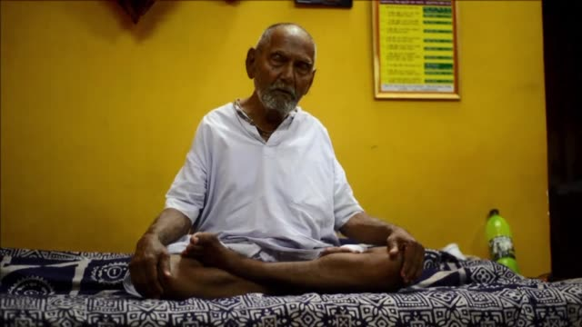 Looking remarkably unlined for his claimed 120 years an Indian monk who says he is the oldest man to have ever lived puts his longevity down to no...