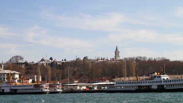 looking to topkapi palace - topkapi palace stock videos and b-roll footage