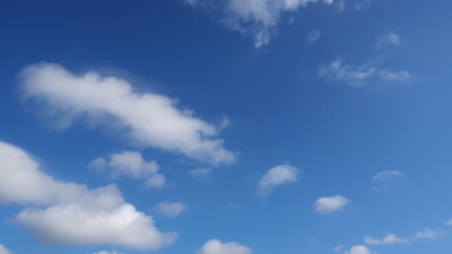 looking up in the blue sky while sailing on boat - sky only stock videos & royalty-free footage