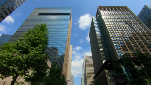 looking up view of skyscraper - office block exterior stock videos & royalty-free footage