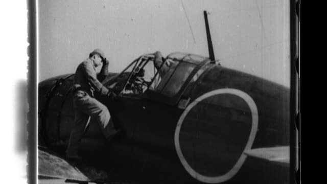 Lookouts at Atsugi naval airbase alert fighter pilots as American B29 bombers approach and the pilots takeoff to engage the Americans and shoot one...