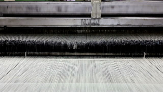 loom for weaving silk - distorted stock videos and b-roll footage