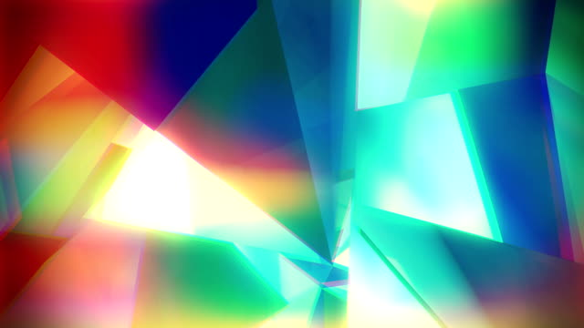 loop abstract colorful background - refraction stock videos & royalty-free footage