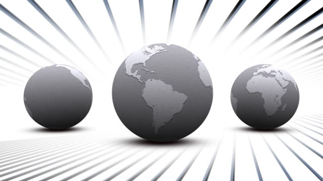 loop earth hd 30 fps seamless animation - longitude stock videos & royalty-free footage