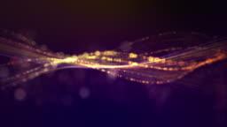 4K Loop, Golden Detailed Seamless Background