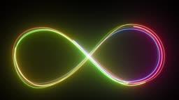 Loop lines colorful design.