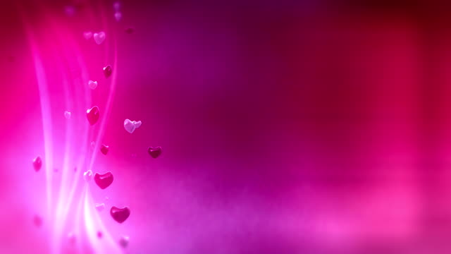 loop: pink hearts background - ribbon sewing item stock videos & royalty-free footage