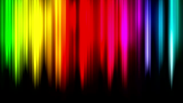loop rainbow background - spectrum stock videos & royalty-free footage