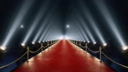 Loop red carpet animation