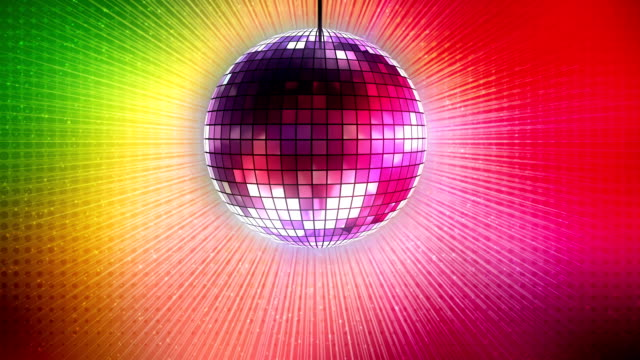 loop: shiny disco ball - disco dancing stock videos & royalty-free footage