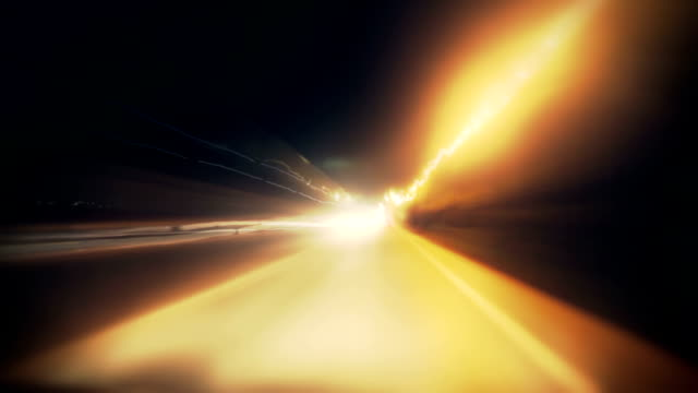 loop :: timelapse speeding through a town - tail light stock videos & royalty-free footage