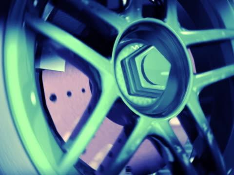 (ntsc) loop wheel - calliper stock videos and b-roll footage